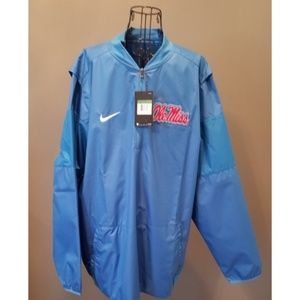 NWT'S Men's XL Ole Miss Powder Blue Jacket